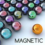 Magnetic balls bubble shoot: Puzzle gameіконка