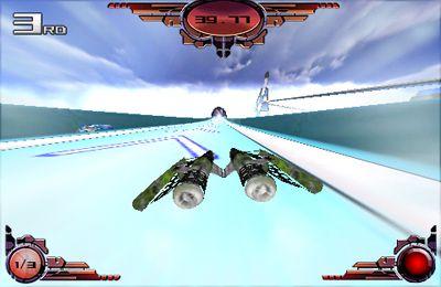 Screenshot Futuristisches Rennen auf dem iPhone