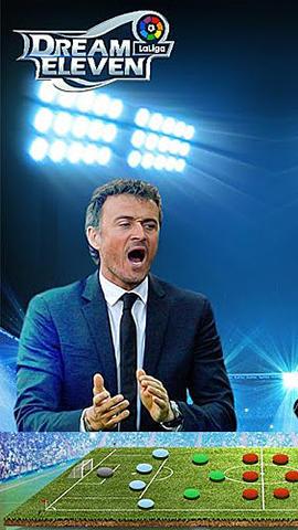 Dream eleven: La Liga Symbol