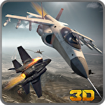 F18 army fighter aircraft 3D: Jet attack icon