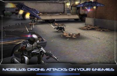 Screenshot RoboCop auf dem iPhone