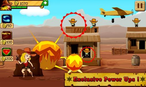 Bounty hunter: Miss Jane for Android