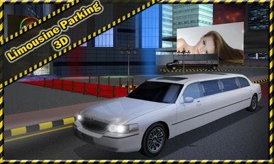 Limousine Parking 3D capture d'écran