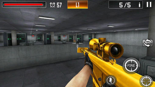 Action Shoot war: Professional striker für das Smartphone