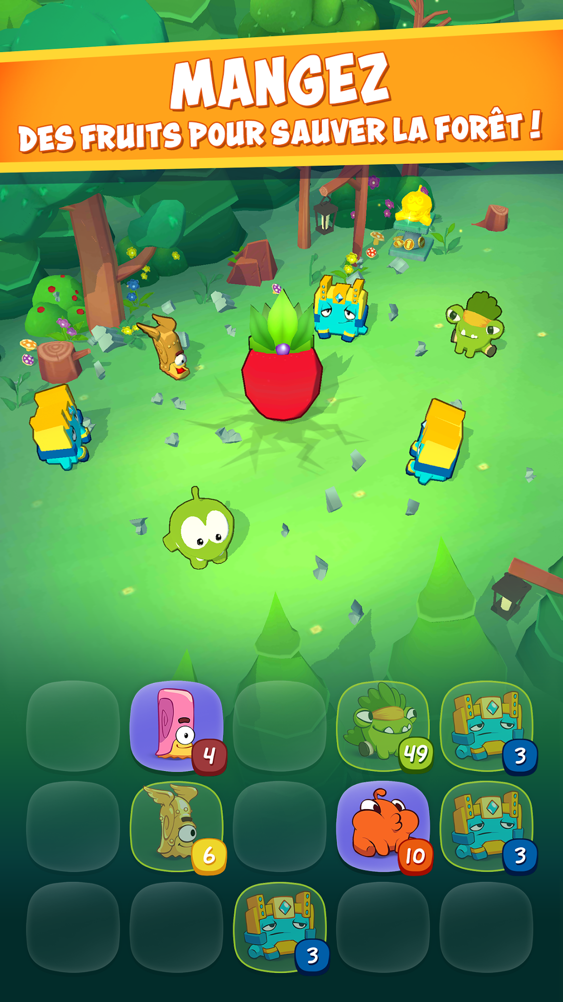 Om Nom: Merge pour Android