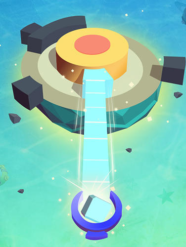 Plant planet 3D: Eliminate blocks and shoot energy für Android