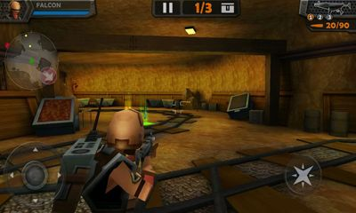 Capturas de tela de WarCom Genesis