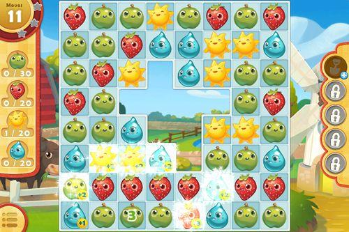 Jogos de arcade: faça o download de Heróis da fazenda: Saga para o seu telefone
