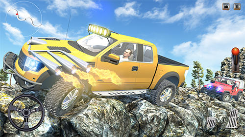 4x4 offroad jeep hill driving para Android