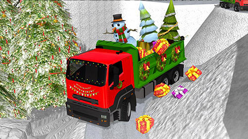 Christmas tree transporter truck скріншот 3