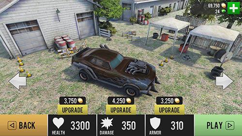 Arcade Zombie drift für das Smartphone