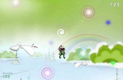 Le Sauteur Elfe pour iPhone gratuitement