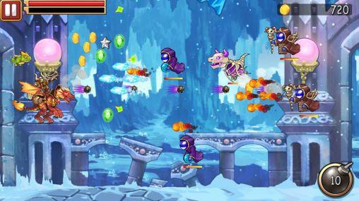 Arcade-Spiele Black dragon für das Smartphone