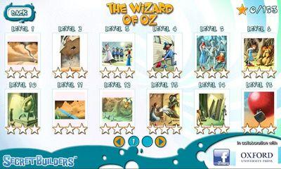 Logikspiele The wizard of Oz: Hidden difference für das Smartphone