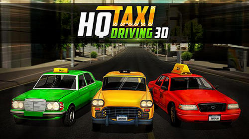 HQ taxi driving 3D capture d'écran 1
