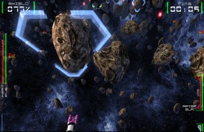 Screenshot Weltraumrennen auf dem iPhone