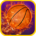 Swipe basketball Symbol