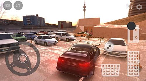 Fahrsimulatoren Real car parking 2017 auf Deutsch