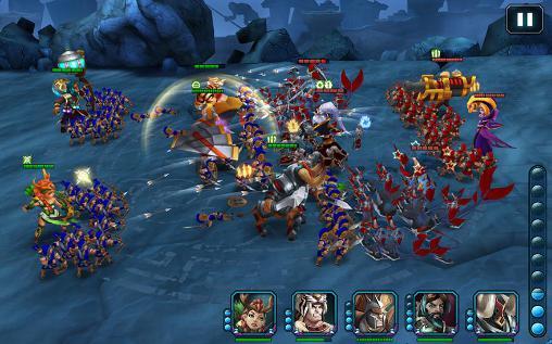 Onlinespiele Wartide: Heroes of Atlantis für das Smartphone