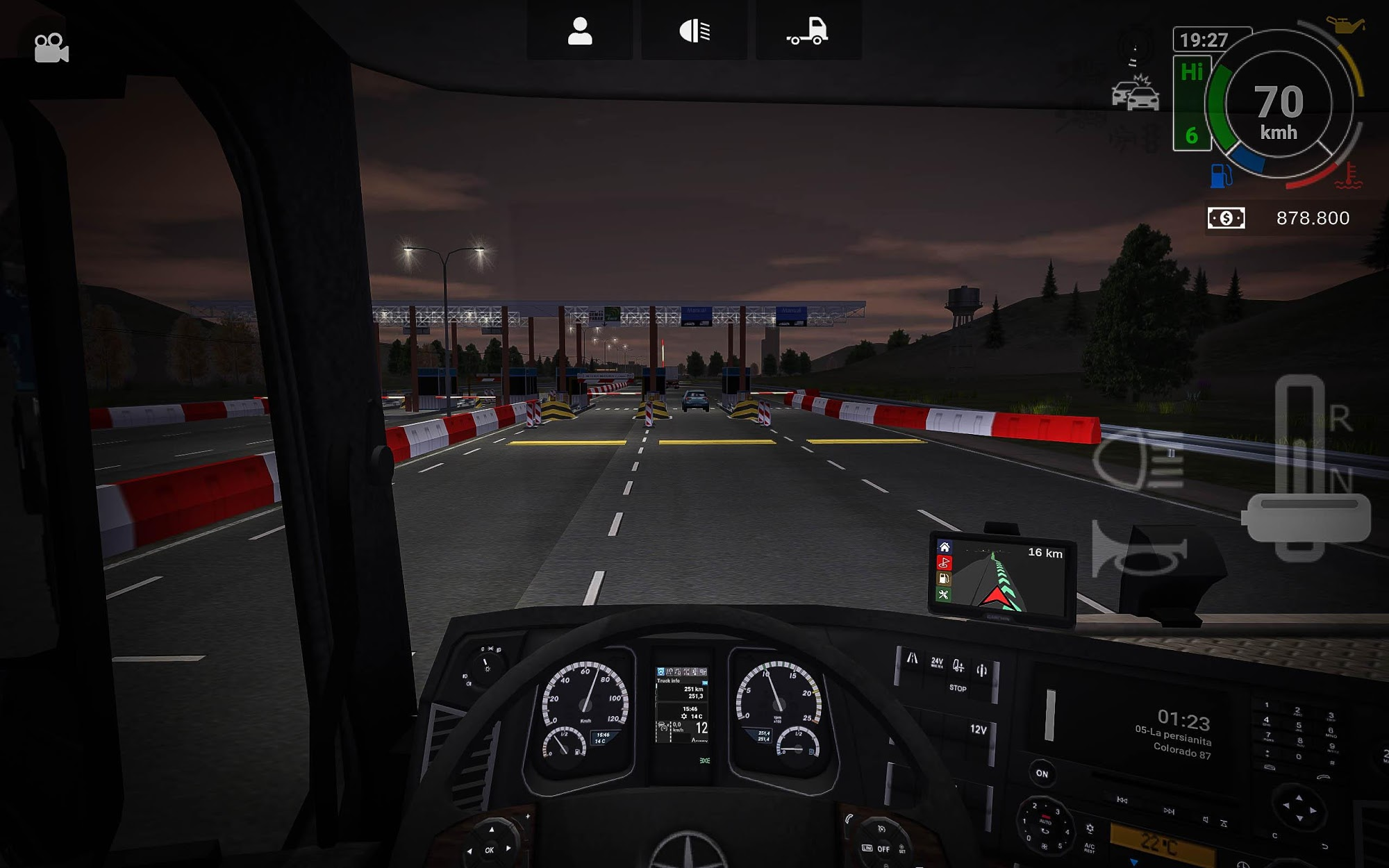Grand Truck Simulator 2 captura de tela 1