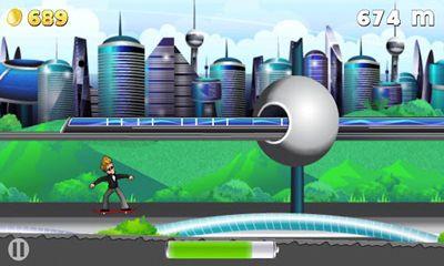 Juegos de arcade Hoverboard Hero para teléfono inteligente