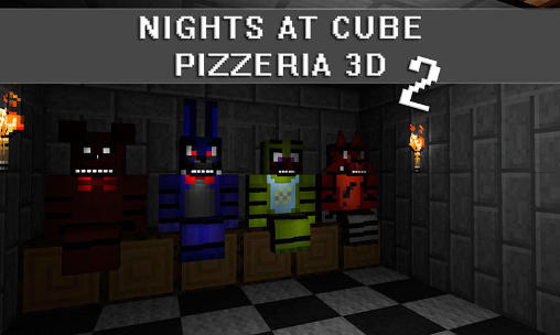 Nights at cube pizzeria 3D 2 скриншот 1