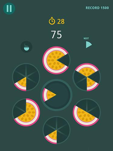 Arcade Slices! Fruit pieces! Circle puzzles game! für das Smartphone