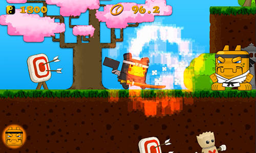 Cubemon ninja school screenshot 1