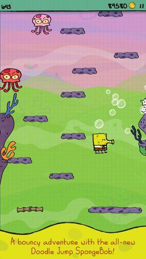 Doodle Jump: Spongebob Schwammkopf auf Deutsch