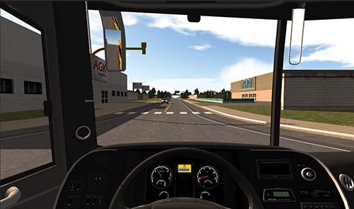 Heavy bus simulator captura de pantalla 3