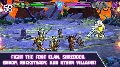 RPG-Spiele Teenage Mutant Ninja Turtles: Kraft der Portale auf Deutsch