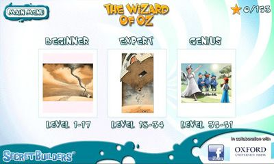 The wizard of Oz: Hidden difference für Android