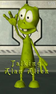 Скриншот Talking Alan Alien на андроид