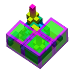 CubeU 3D puzzle Symbol