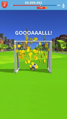 Soccer kick screenshots