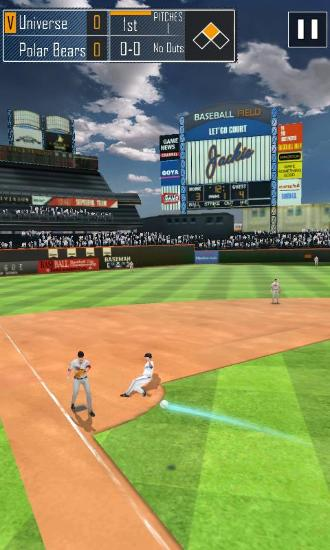 Real baseball for Android