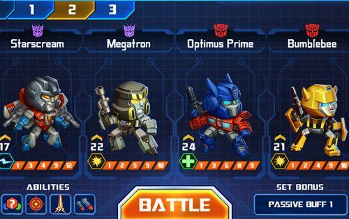 Шутеры Transformers: Battle tactics на русском языке