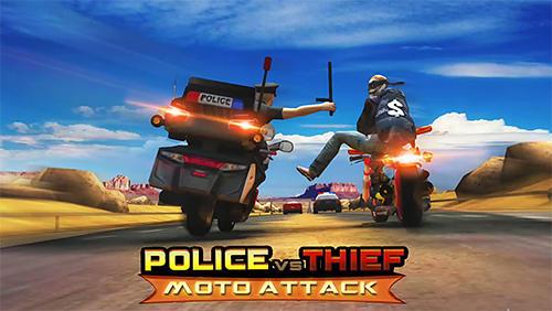 Police vs thief: Moto attack Symbol
