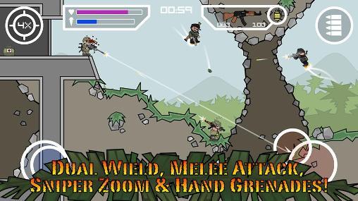 Doodle army 2: Mini militia für Android