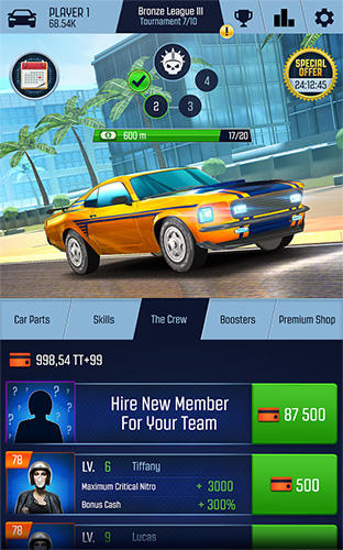 Nitro racing go for Android