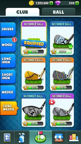 Online Golf rival für das Smartphone