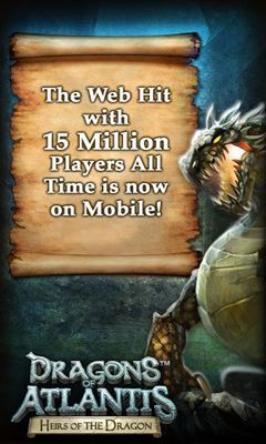 Dragons of Atlantis Screenshot