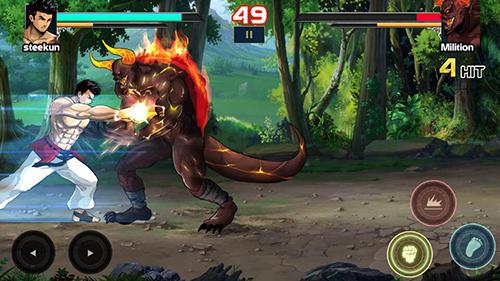 Mortal battle: Street fighter auf Deutsch