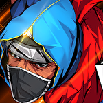Ninja hero: Epic fighting arcade game icône