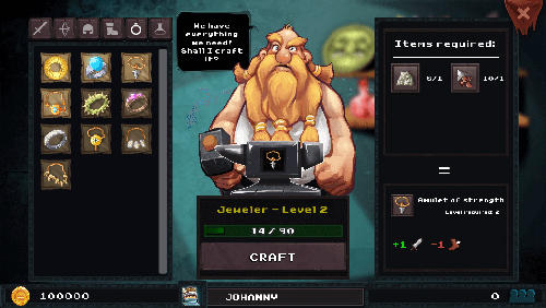 Screenshot Dungeon Rushers auf dem iPhone