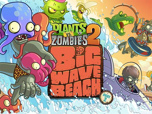 logo Plants vs. zombies 2: Big wave beach