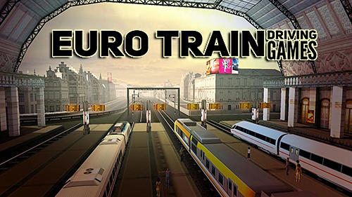Euro train driving games скриншот 1