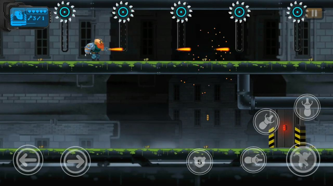 Guntoss: Cyborg Arm screenshot 1