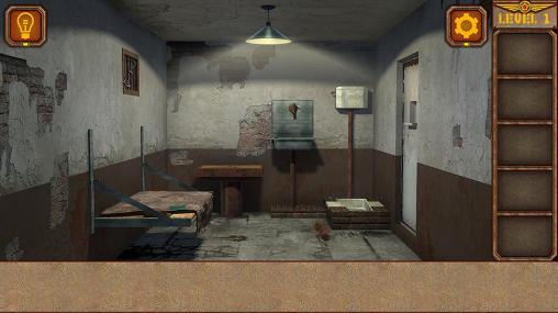 Abenteuer-Spiele Five nights in prison für das Smartphone