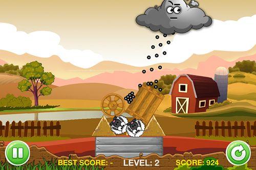 Una pequeña oveja mascota de una granja virtual: Puzzle para iPhone
